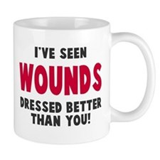 Wounds Dressed Better Mug