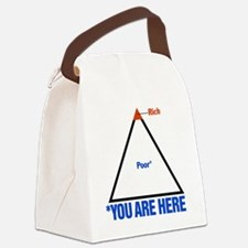 You_Are_Here Canvas Lunch Bag