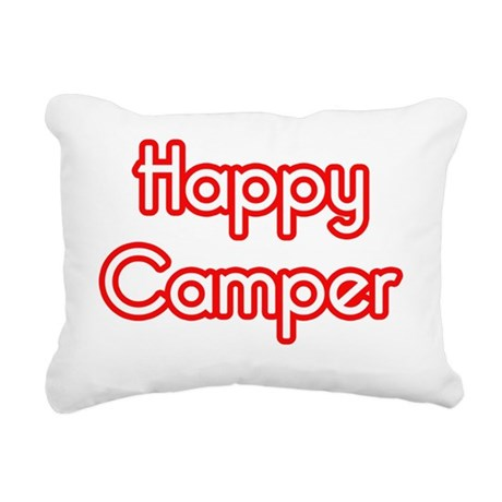 tee_happycamper Rectangular Canvas Pillow