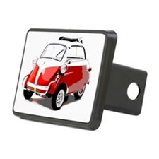 Isetta Red copy Hitch Cover