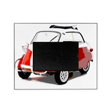 Isetta Red copy Picture Frame