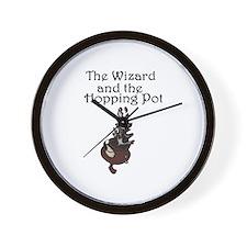 Funny Hop Wall Clock