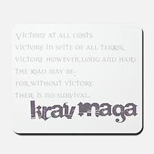 KravMaga - Victory  Survival Mousepad