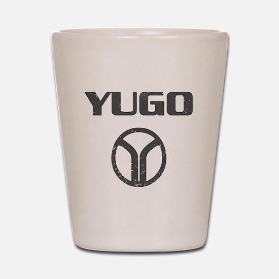 Yugo4 copy Shot Glass