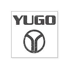 """Yugo4 copy Square Sticker 3"""" x 3"""""""