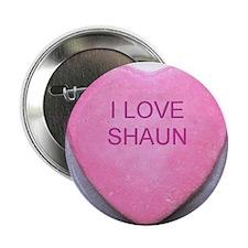 "HEART SHAUN 2.25"" Button"