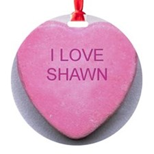 HEART SHAWN Ornament