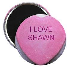 HEART SHAWN Magnet