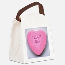 HEART SID Canvas Lunch Bag