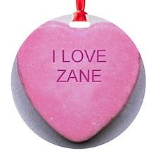 HEART ZANE Ornament
