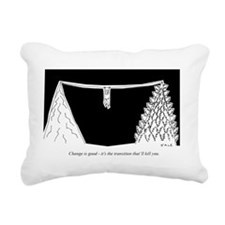 Change_Transition Rectangular Canvas Pillow