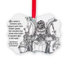 LicheWithPoem Ornament