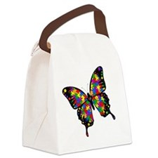 autismbutterfly-rotated Canvas Lunch Bag