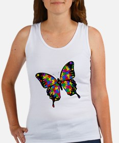 autismbutterfly-rotated Women's Tank Top