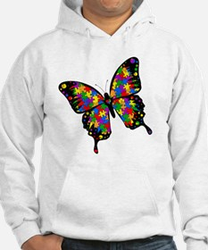 autismbutterfly-rotated Hoodie
