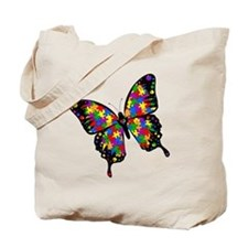 autismbutterfly-rotated Tote Bag