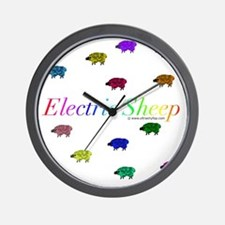 Electric Sheep Wall Clock