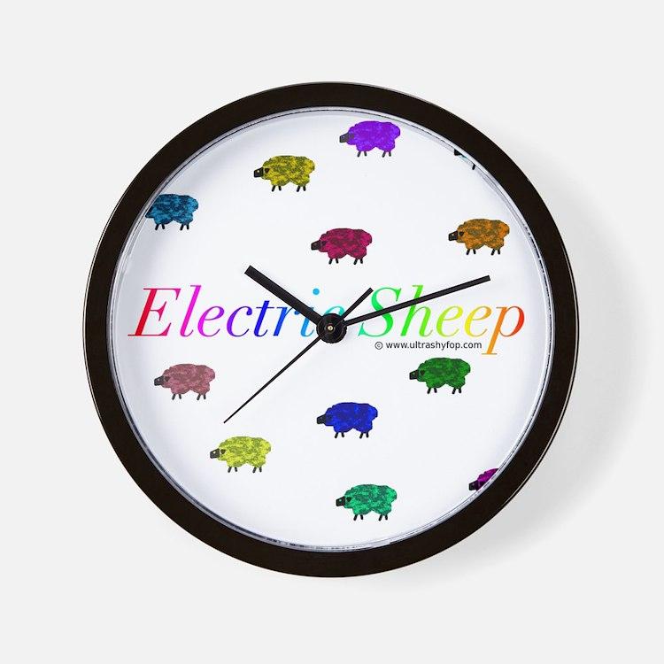 Electric Sheep Wall Clock