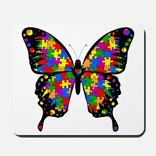autismbutterfly6inch Mousepad