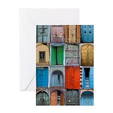 Doors_of_India Greeting Card