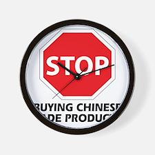 stop buying Wall Clock