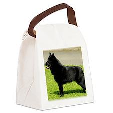 Schipperke 9W021D-022 Canvas Lunch Bag