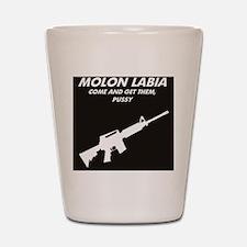 MOLON LABIA Shot Glass