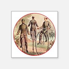 """Wheelmen-C10trans Square Sticker 3"""" x 3"""""""
