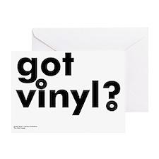 got_vinyl Greeting Card