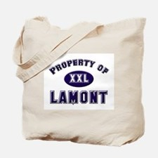 Property of lamont Tote Bag