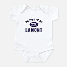 Property of lamont Onesie