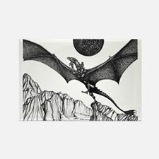 Dragonlaunch Rectangle Magnet
