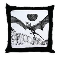 Dragonlaunch Throw Pillow