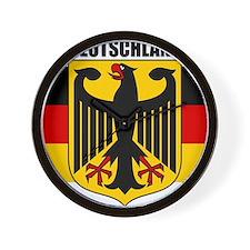 Germany COA 2 Wall Clock