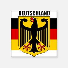 "Germany COA 2 Square Sticker 3"" x 3"""