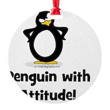 Penguin With Attitude Ornament