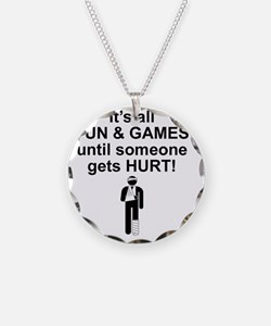 Its all fun and games Necklace