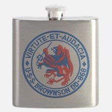 bronson patch Flask