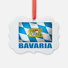 Bavaria Flag  COA Ornament