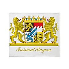 Bavaria COA Throw Blanket