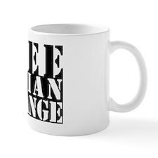 free julian assange Small Mug