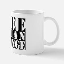 free julian assange Small Small Mug