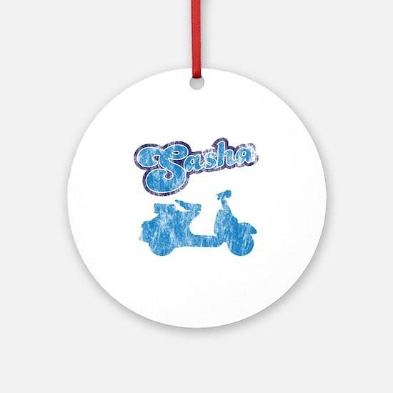 sasha Round Ornament