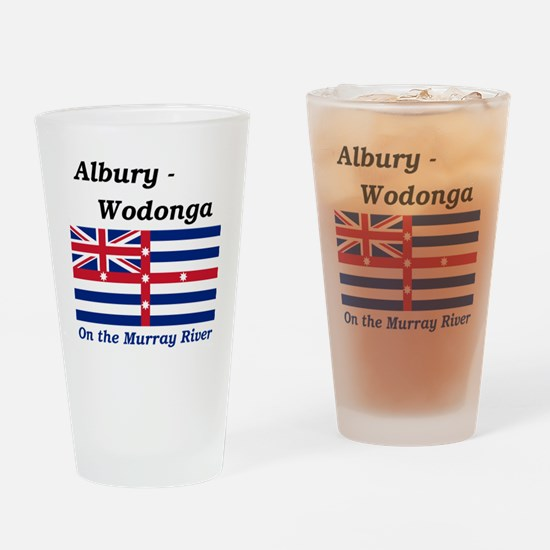 Albury-Wodonga Drinking Glass