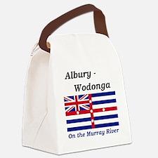 Albury-Wodonga Canvas Lunch Bag
