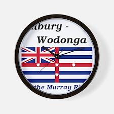 Albury-Wodonga Wall Clock