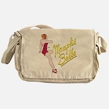 red_belle_b-17 Messenger Bag