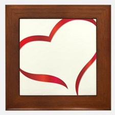 heart03 Framed Tile