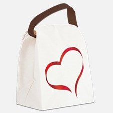 heart03 Canvas Lunch Bag