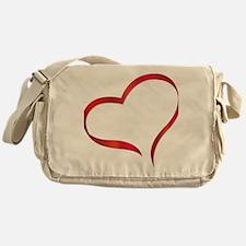 heart03 Messenger Bag